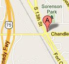 1405 Fort Crook Road South map image
