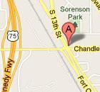 La Mesa Ft Crook Rd & 370 (Bellevue) map image