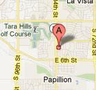 829 Tara Plz map image