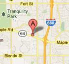 11002 Emmet St map image