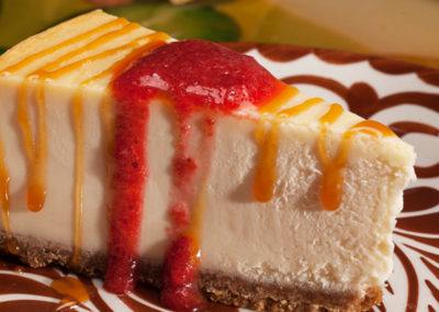 Cheese Cake from La Mesa Mexican Restaurant