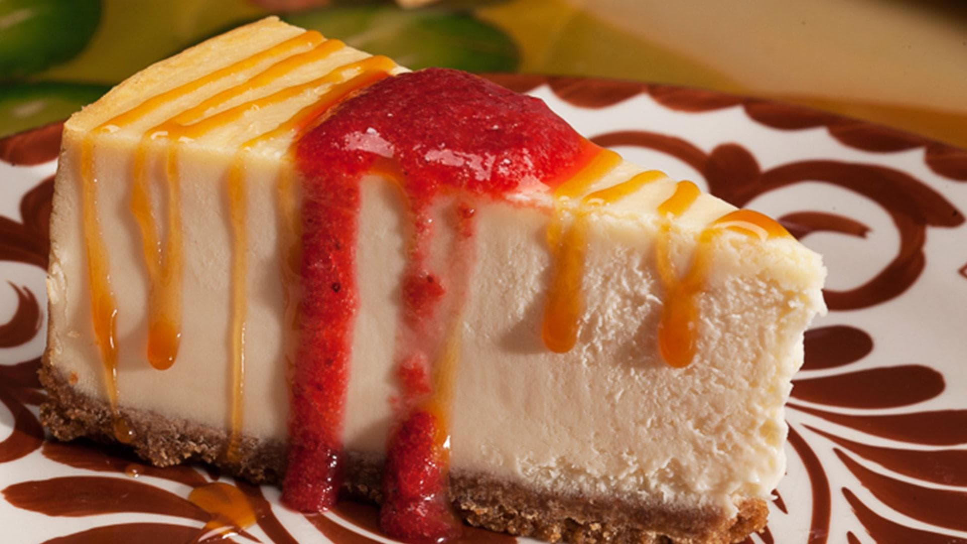 Cheesecake from La Mesa Mexican Restaurant