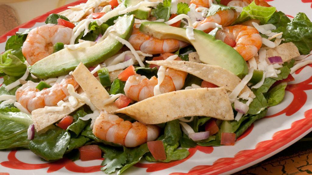 Ensalada de Camaron from La Mesa Mexican Restaurant
