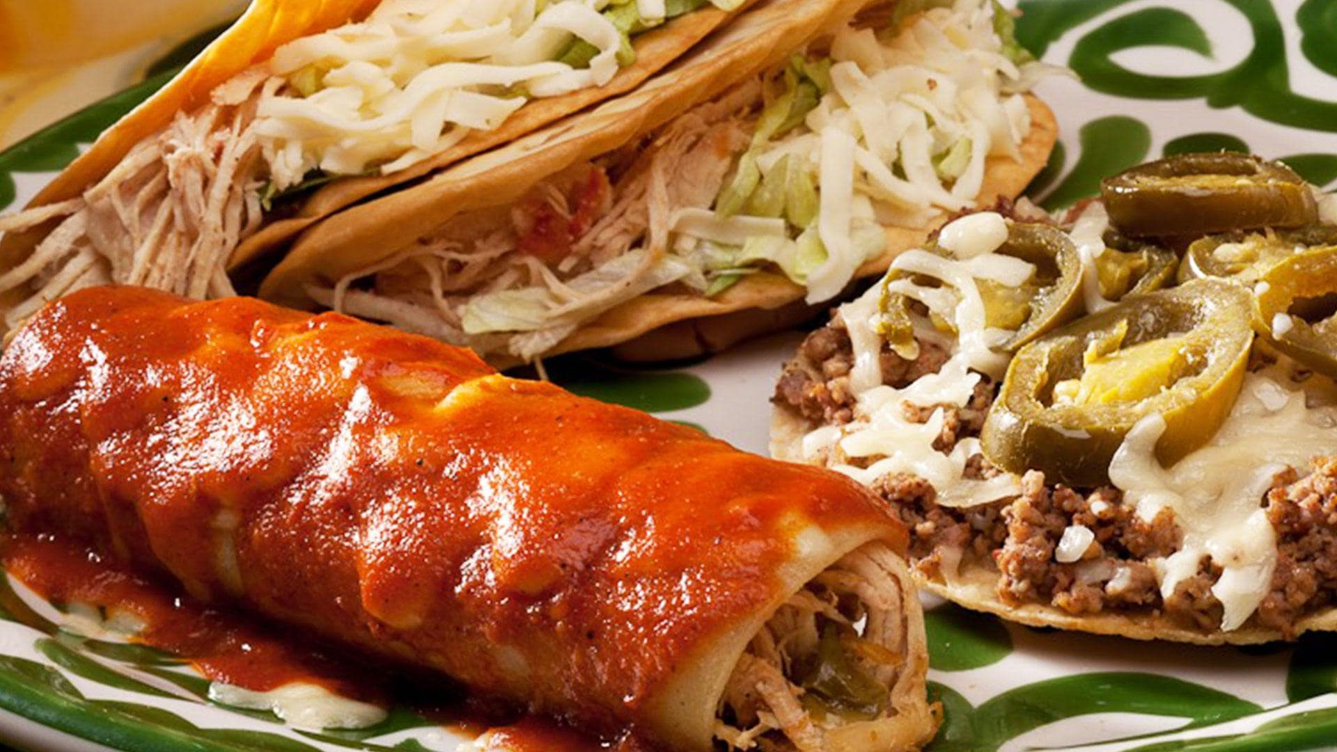 Build Your Own Combination from La Mesa Mexican Restaurant