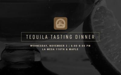 Tequila Tasting Dinner