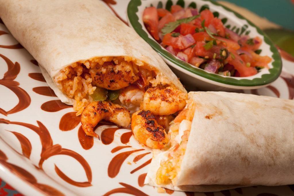 Burrito de Camaron