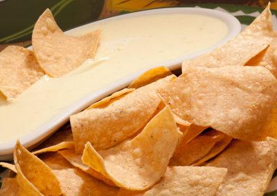 Our Famous Cheese Dip and Chips