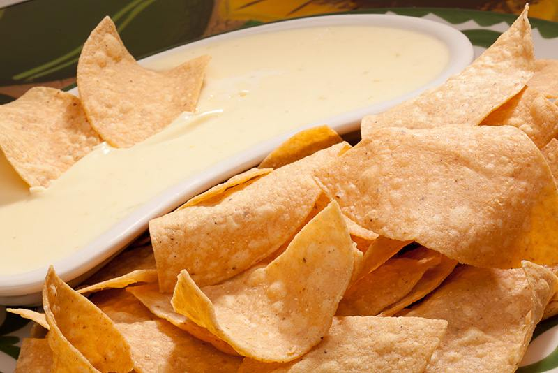Famous Cheese Dips and Chips