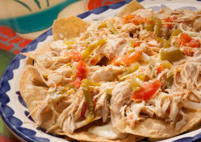 Beef, Bean, Chicken or Mixed Nachos