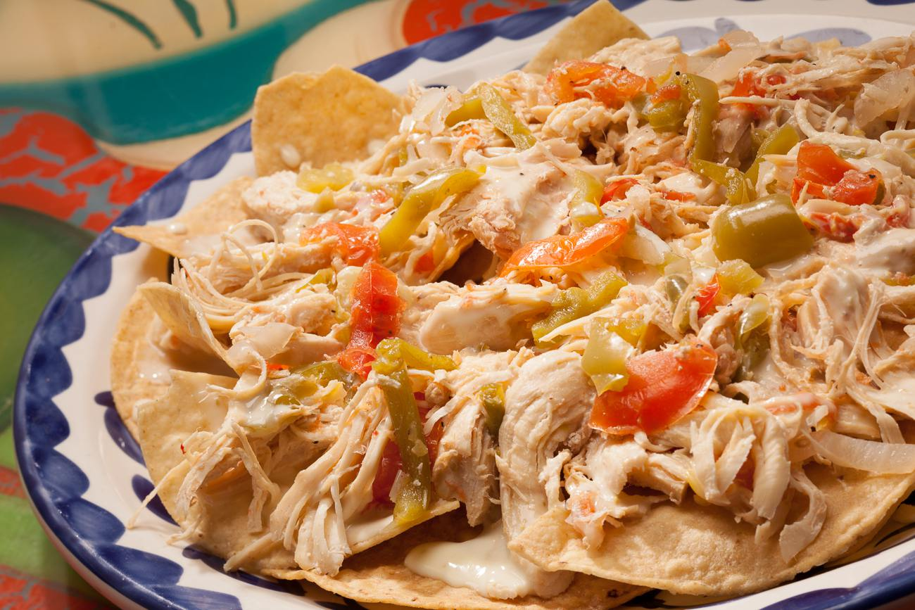 Chicken Nachos from La Mesa Mexican Restaurant