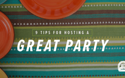 9 Tips for Hosting a Great Party