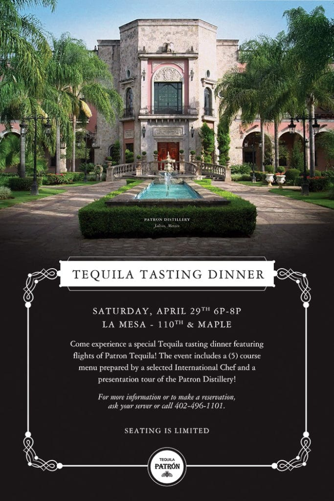 Tequila Tasting Dinner Post - April 2017