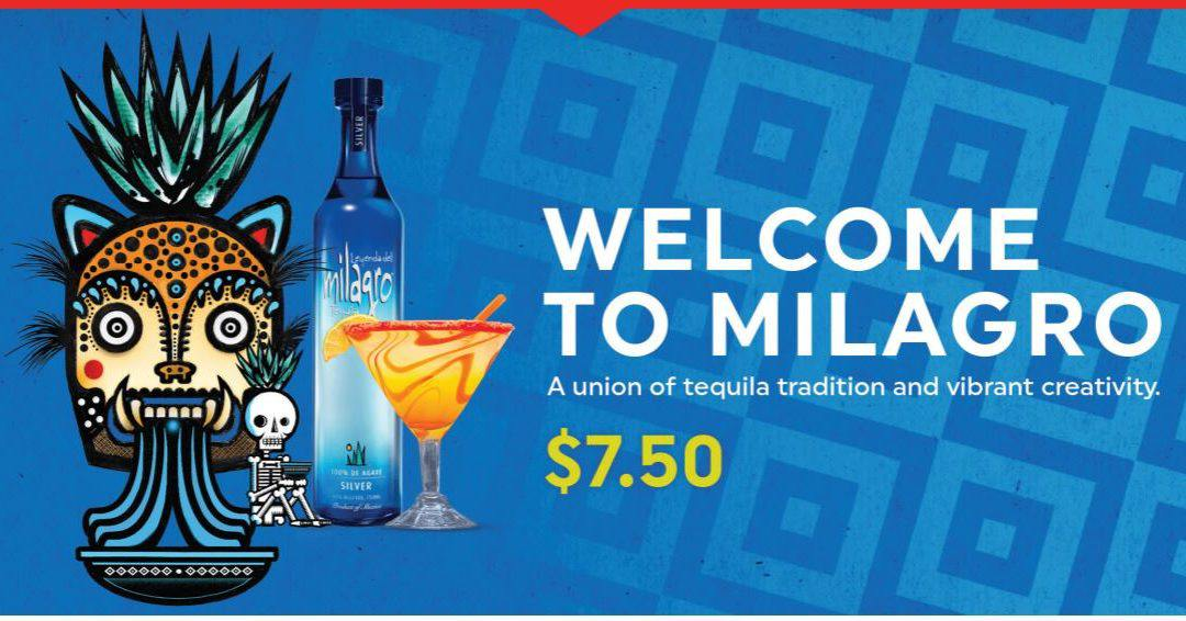 Milagro Silver Margarita and La Mesa-tequila tradition and delicious creativity!