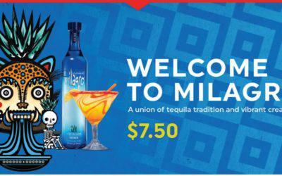 Milagro Silver Margarita and La Mesa-tequila tradition and delicious creativity!
