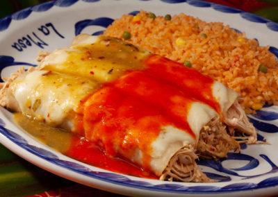 Enchiladas Divorciadas